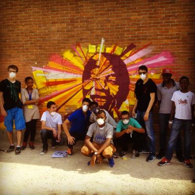 Académie d'été 2015 à Anderlecht